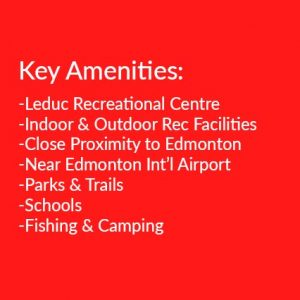 amenities in Leduc Alberta