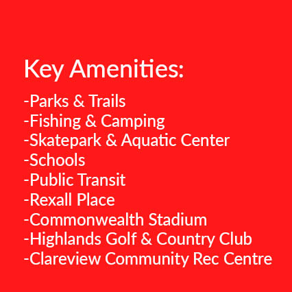 real estate amenities in north east edmonton