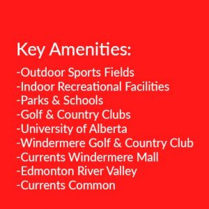 south west edmonton amenities