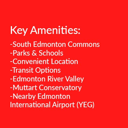 amenities in South East Edmonton