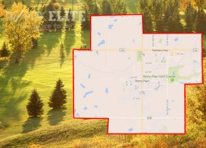 map of stony plain alberta