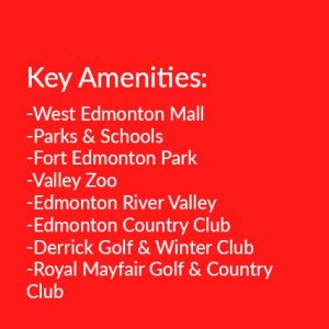 amenities in West Edmonton